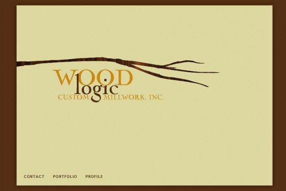 Wood Logic Custom Millwork website
