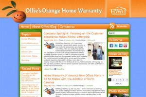 Ollie's Orange Home Warranty
