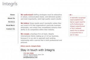 Integris Consulting Group
