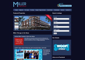 Miller Chicago Real Estate website