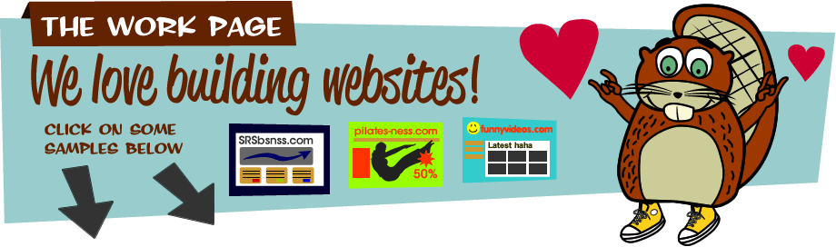 We love building websites! Click on some samples below.