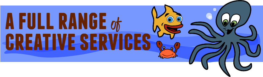 A full range of creative services